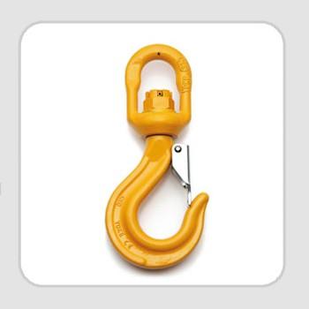 Gr8 Swivel Hook with Latch (ball bearing type)