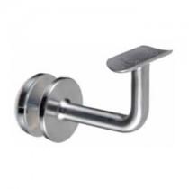 Handrail Bracket - Fixed Rail - Glass Mount